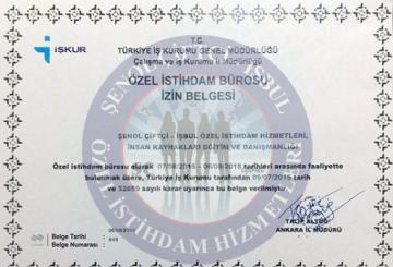 Türkiye İş Kurumu  Özel İstihdam Bürosu İzin Belgesi  Türkiye İş Kurumu  Özel İstihdam Bürosu İzin Belgesi Yeni izin belgesi2017 360x245