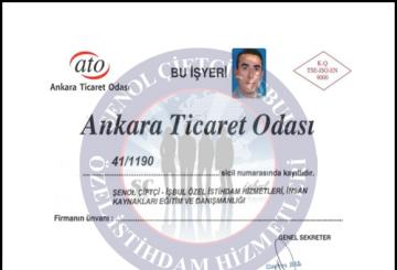 Ankara Ticaret Odası İzin Belgesi  Ankara Ticaret Odası İzin Belgesi ato belgesi isbul 360x245