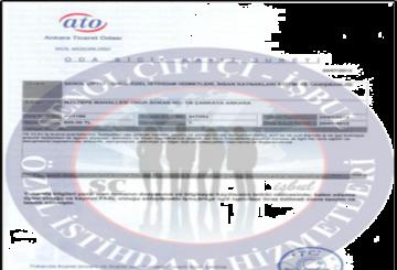 Ankara Oda Sicil Belgesi  Ankara Oda Sicil Belgesi ticarett odasi belgesi 500 x 400 360x245